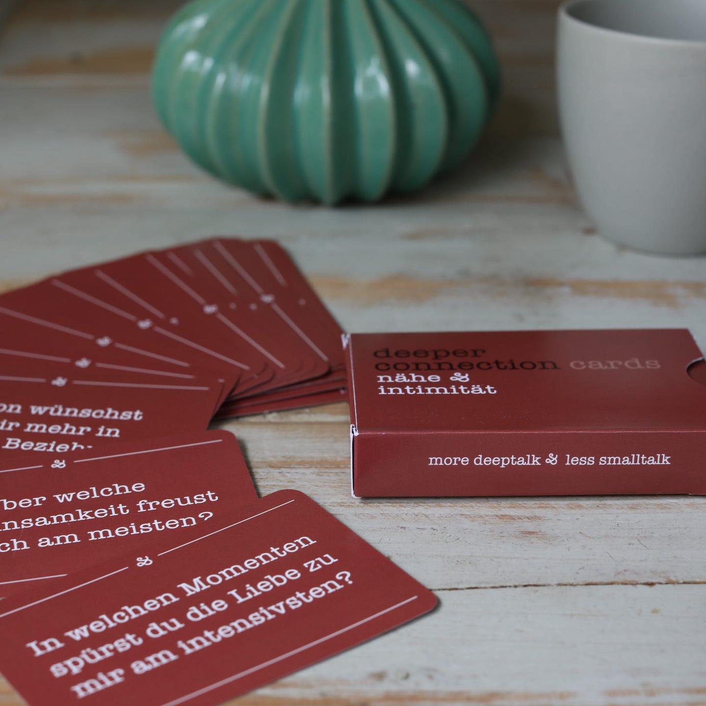 """Nähe & Intimität"" deeper connection cards"