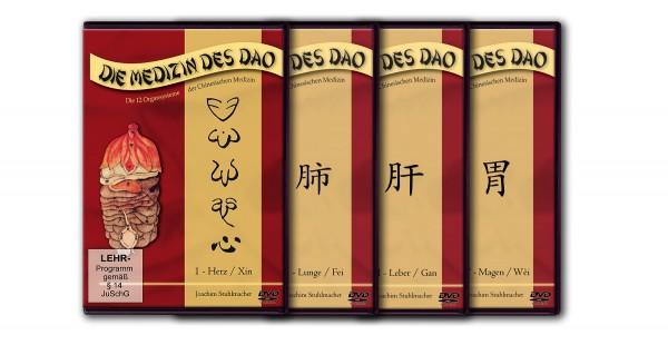 Die Medizin des Dao - Teil 1-4: Herz, Leber, Lunge, Magen